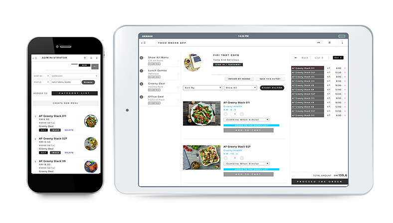 GroupMakan Online Restaurant Menu Management System